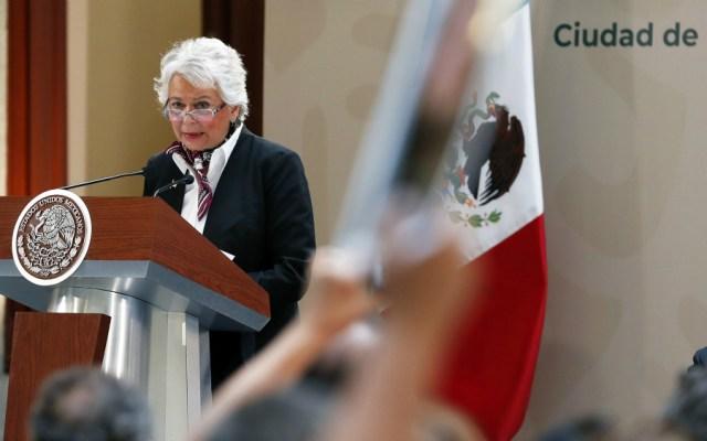 """México se prepara para """"Caravana Madre"""": Sánchez Cordero - Foto de Notimex"""