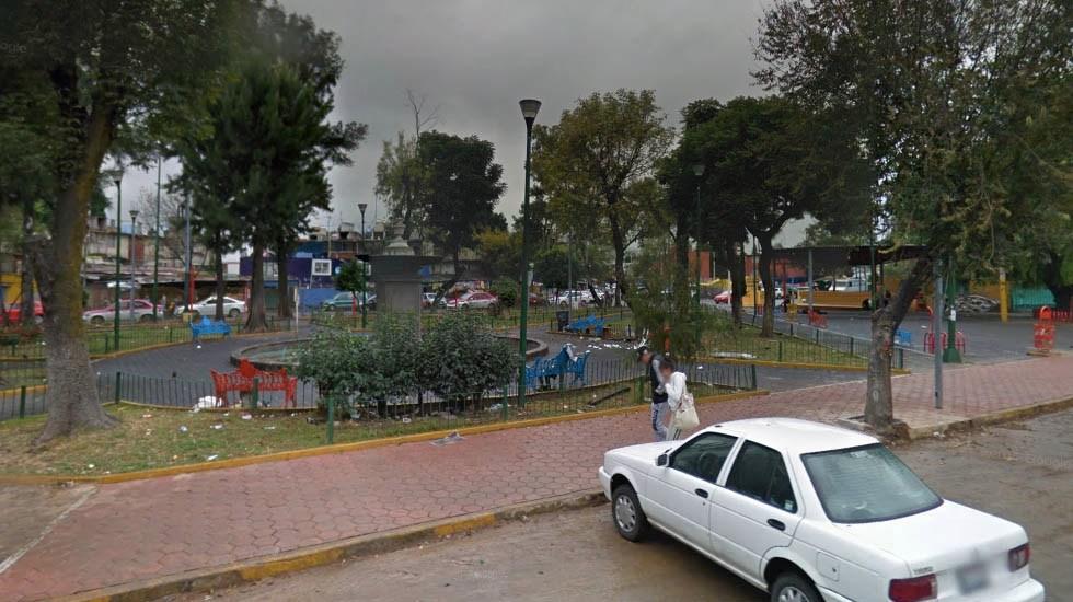 Hallan cadáver de mujer en parque de Tepito - Captura de Google Maps