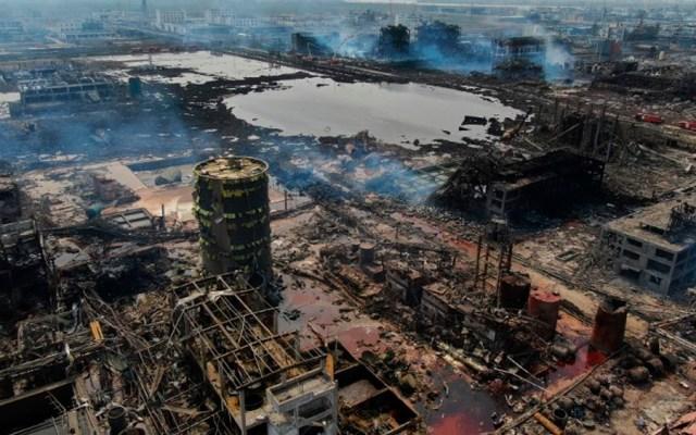 Suman 64 muertos tras explosión en planta química de China - Foto de AFP