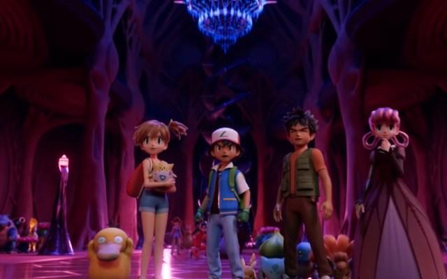 #Video Lanzan tráiler de Pokémon: Mewtwo contraataca - Así lucirán los protagonistas en Pokémon: Mewtwo strikes back. Captura de pantalla