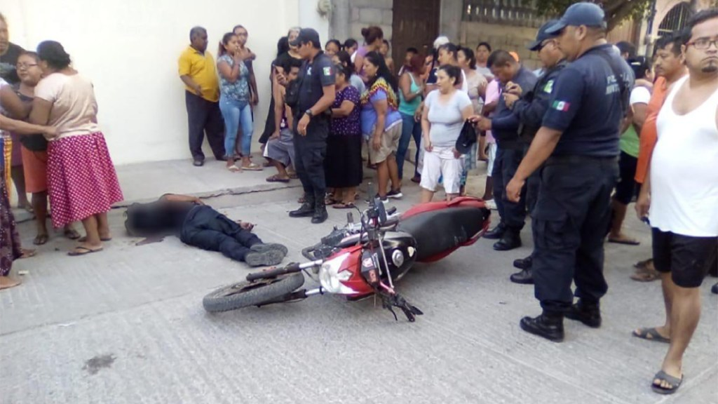 Asesinan a policía municipal de Juchitán. Noticias en tiempo real