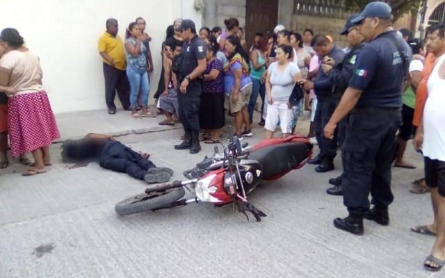 Asesinan a policía municipal de Juchitán - Foto de Quadratín