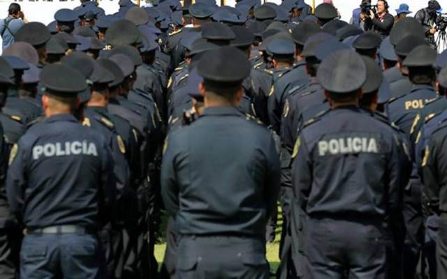 Policía capitalina va por pandillas que podrían convertirse en cárteles - Policías de la CDMX. Foto de @PoliciaCDMX