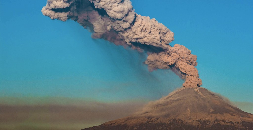 Aumento de alerta volcánica del Popocatépetl no genera riesgo en Veracruz. Noticias en tiempo real