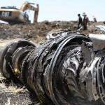Ethiopian Airlines afirma que sus pilotos entrenaron en simulador - Los restos del avión estrellado de Ethiopian Airlines