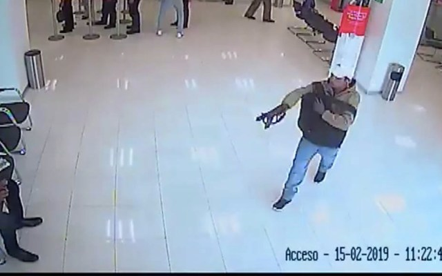 #Video Asaltan sucursal bancaria en Naucalpan - Captura de pantalla