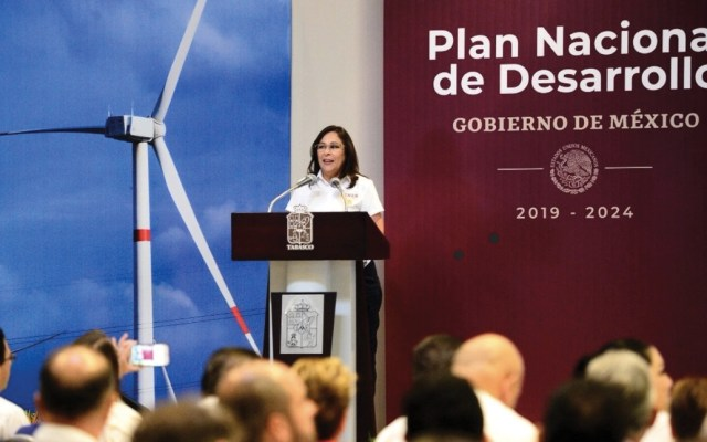 Rocío Nahle asegura que empresas privadas se incluirán en Plan Nacional de Desarrollo - Foto de Twitter Rocío Nahle