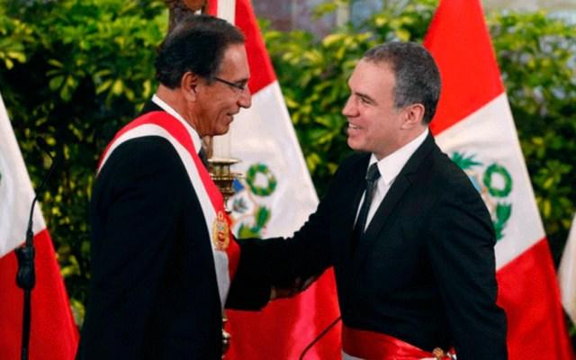 Actor juramenta como primer ministro de Perú - actor primer ministro perú