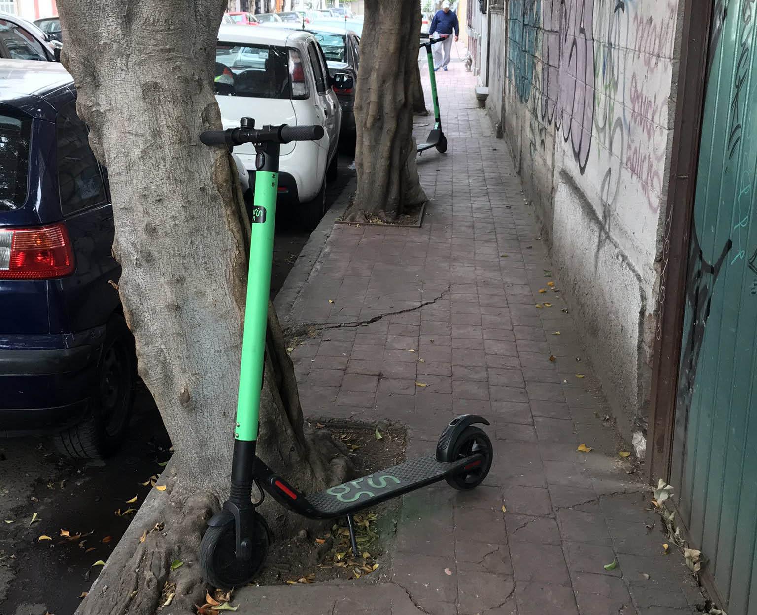 Scooter Grin en la Miguel Hidalgo. Foto de @cicls