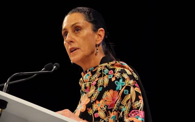 En el gobierno capitalino se acabaron los privilegios: Sheinbaum - Claudia Sheinbaum en el informe de sus primeros 100 días de gobierno. Foto de Notimex