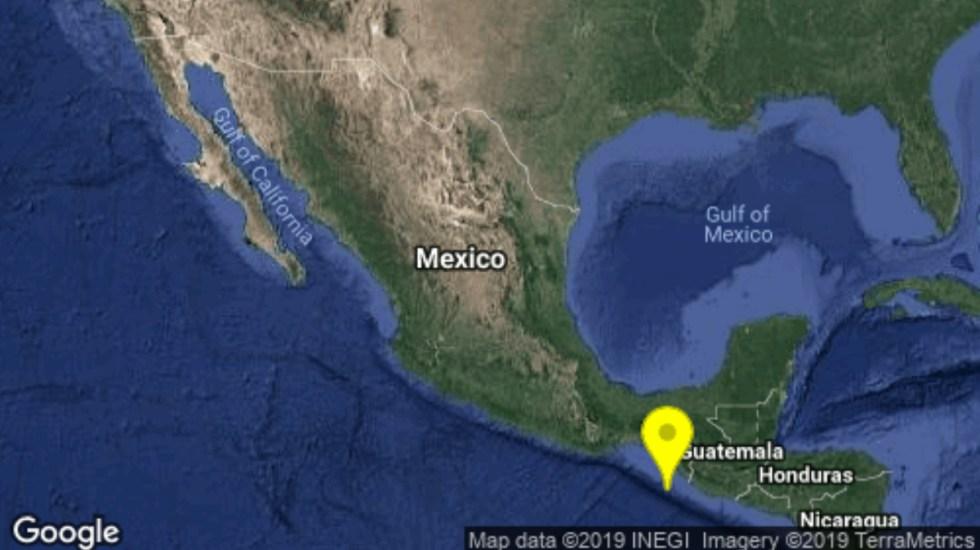 Sismológico Nacional ajusta epicentro de sismo en Chiapas - sismo epicentro chiapas