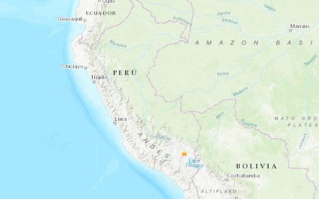 Sismo de magnitud 7.0 sacude frontera de Perú, Bolivia y Chile