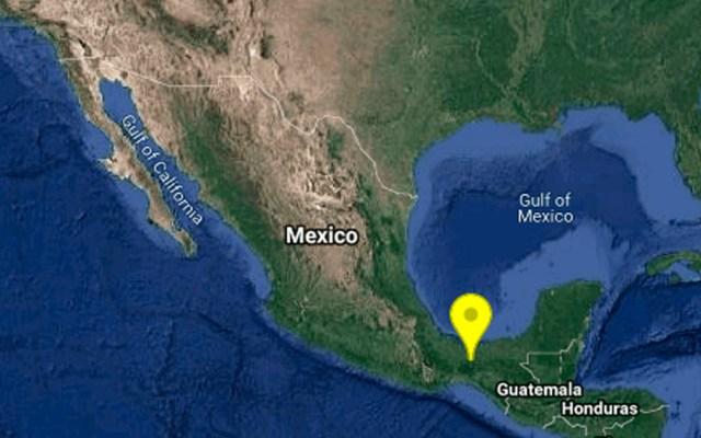 Sismo de magnitud 4.1 sacude Veracruz - Foto de Google
