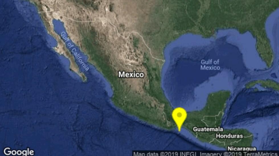 Sismo magnitud 5.3 sacude Oaxaca - sismo salina cruz