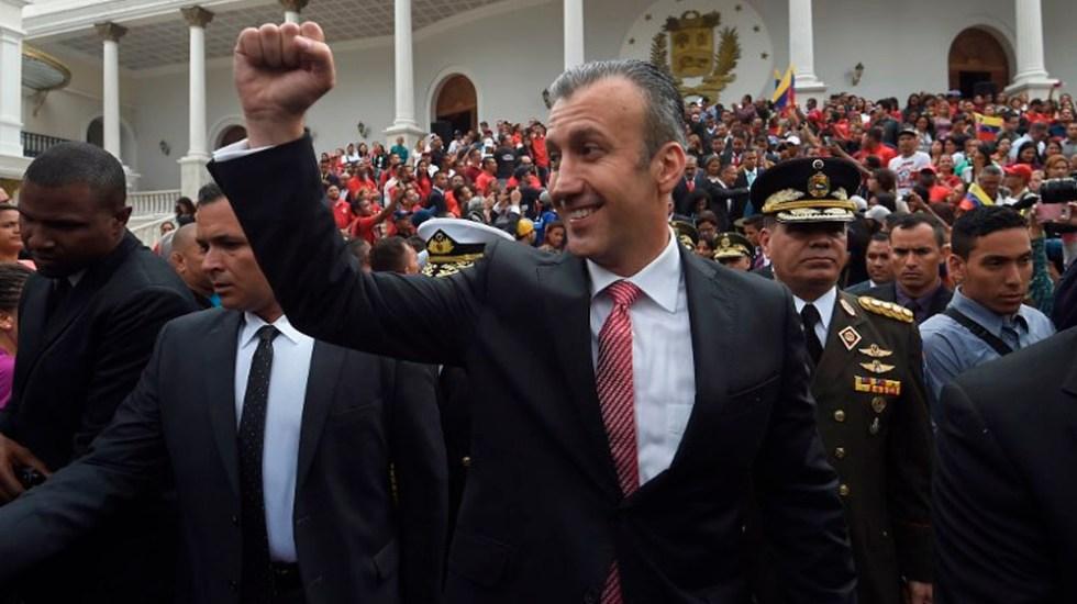 EE.UU. presenta cargos contra ministro venezolano por narcotráfico - Foto de AFP