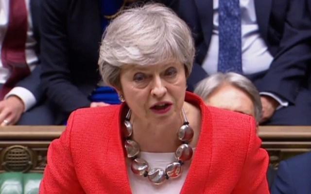 Parlamento británico retira el control del Brexit a Theresa May - Theresa May. Foto de AFP