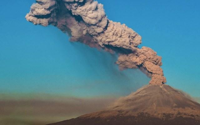Veracruz, sin riesgo por cambio en el semáforo de alerta volcánica del Popocatépetl - Foto de Notimex