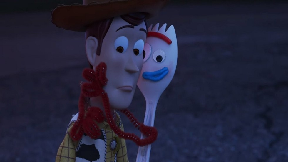 #Video El tráiler oficial de Toy Story 4 - Woody y Forky. Captura de pantalla