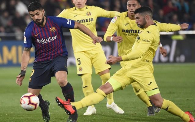 Barcelona rescata un punto en los minutos finales en Villarreal - barcelona empata con villarreal