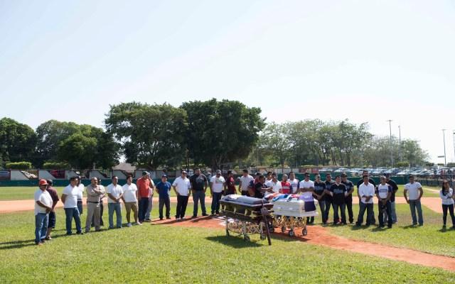 Despiden a víctimas de la masacre de Minatitlán, Veracruz - Foto de Notimex.