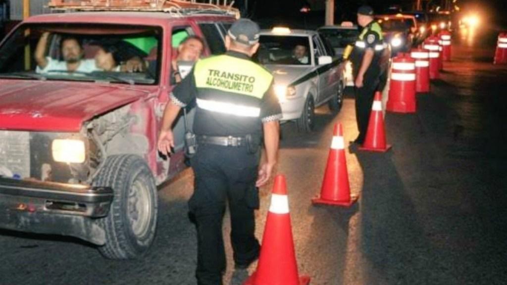 Detienen a 40 personas por conducir alcoholizadas en Ciudad de México. Noticias en tiempo real