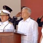 AMLO encabeza el 105 Aniversario de la Defensa Patriótica del Puerto de Veracruz - Captura de pantalla
