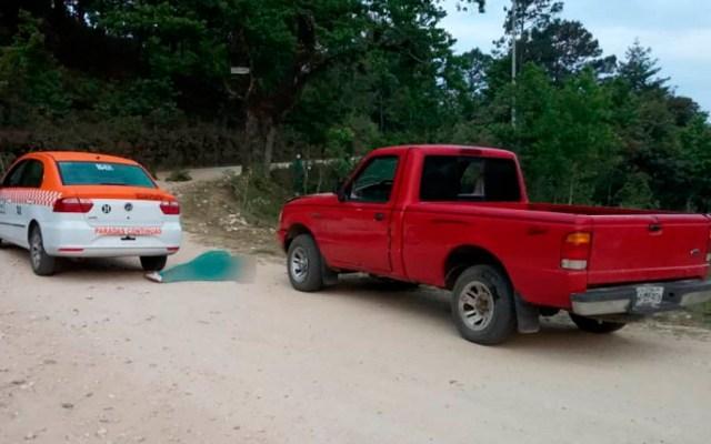 Asesinan a dos hombres y a una mujer en Oaxaca - Foto Especial