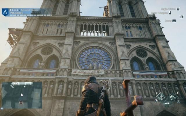 Videojuego podría ayudar en reconstrucción de Notre-Dame - Assasins Creed podría servir a reconstrucción de Notre-Dame