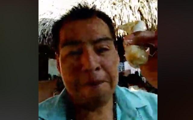 #Video Víctima en Minatitlán transmitió por Facebook live la fiesta - Captura de pantalla