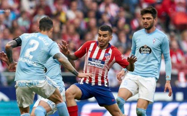 Celta con Araujo cae ante Atlético de Madrid - Foto de Twitter
