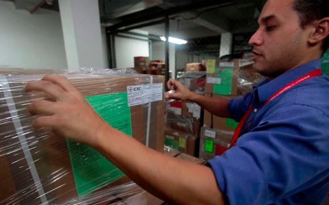 Venezuela recibe primer envío de ayuda humanitaria de la Cruz Roja - Foto de @CICR_ve