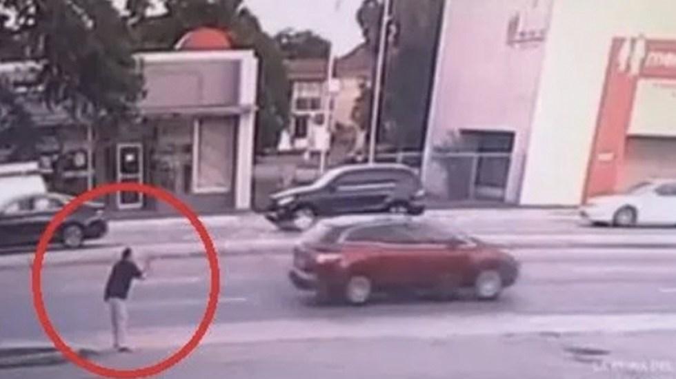 #Video Surge nueva grabación de la agresión de Pablo Lyle - Captura de pantalla