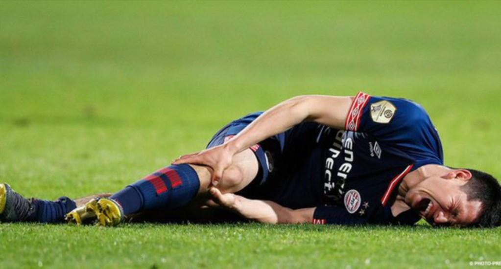 Chucky Lozano se pierde el final de la temporada con el PSV - Hirving Chucky Lozano lesiòn
