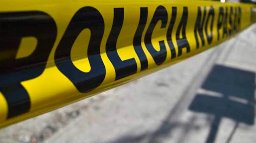 Comando mata a dos policías en Tecate, Baja California - Zona acordonada por la policía