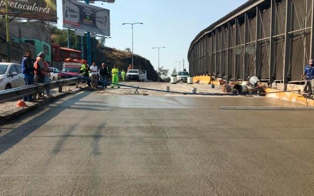 Cerrarán carriles centrales de Circuito Interior por reparaciones - Foto de @GobCDMX