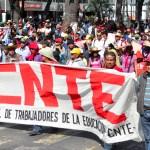CNTE anuncia marchas y paro nacional - cnte