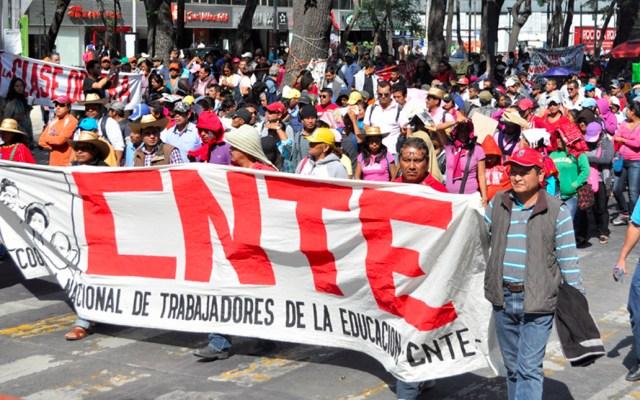 CNTE exige a AMLO el otorgamiento automático de plazas - cnte
