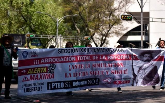 CNTE niega acuerdo para abrogar reforma educativa - cnte reforma educativa