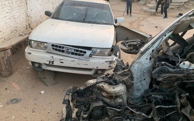 Auto que explotó en Guerrero tenía dos bombas: Policía comunitaria - Foto de @FGEGuerrero