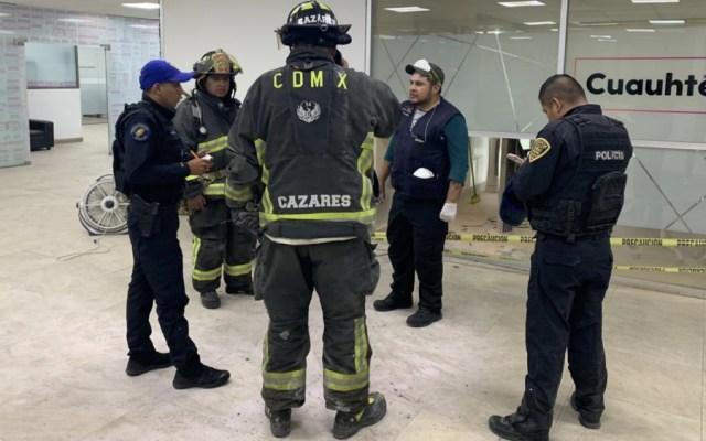Conato de incendio obliga a evacuación de edificio en alcaldía Cuauhtémoc - Foto de @AlcCuauhtemocMx