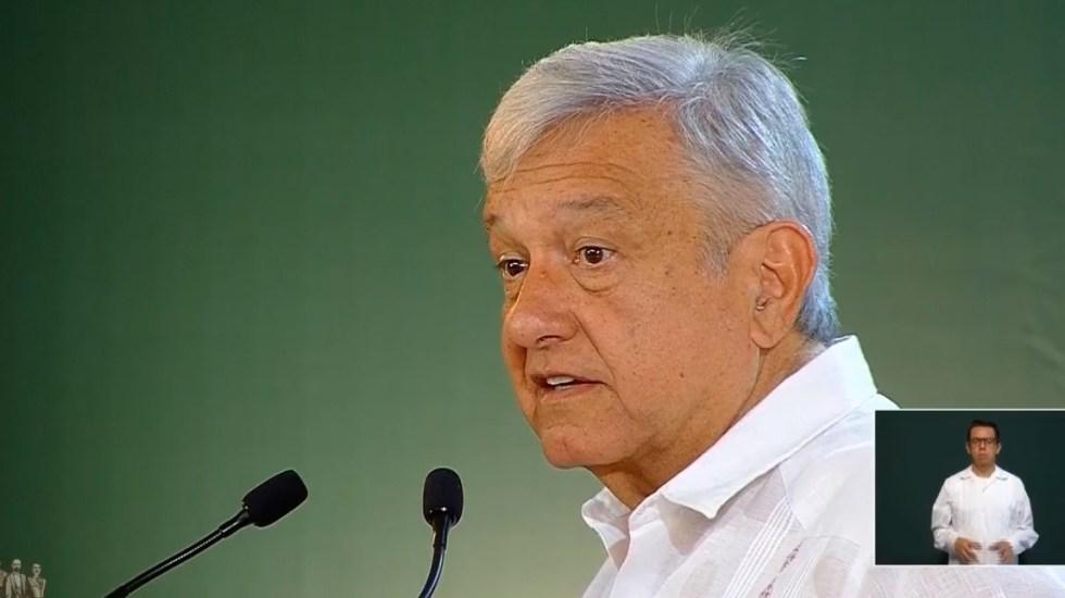 AMLO anuncia que visitará Minatitlán - Conferencia AMLO 22 de abril. Captura de pantalla