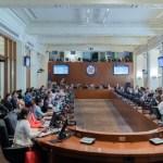 Representante de Guaidó arremete contra Maduro ante la OEA - Consejo Permanente de la OEA. Foto de @OEA_oficial