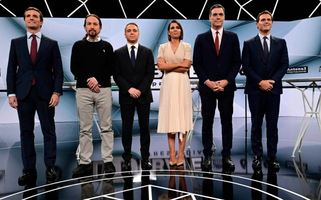 """Conservadores y socialistas llaman al """"voto útil"""" en España - voto útil España Elecciones legislativas"""