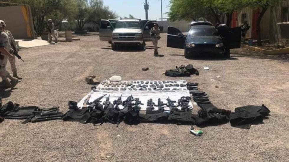 Detienen a nueve presuntos sicarios en Sonora - detenidos sicarios sonora