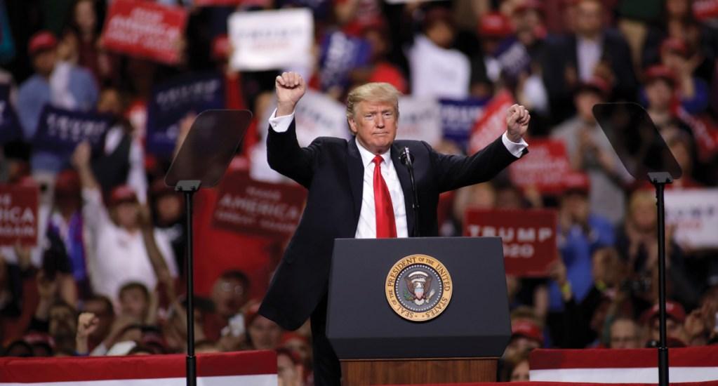 En 800 días, Donald Trump ha hecho más de 10 mil declaraciones falsas - Donald Trump