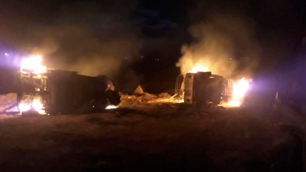 Enfrentamiento deja dos heridos en Nochixtlán - Foto de Quadratín