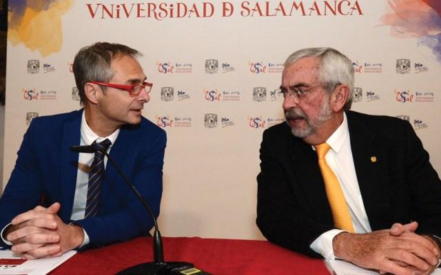 UNAM está reconciliada desde hace años con España: Graue - Foto de Notimex