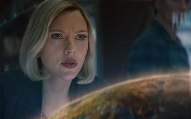 #Video Nuevo tráiler de Avengers: Endgame - Escena del nuevo tráiler de Avengers Endgame. Captura de pantalla