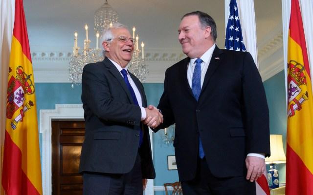 EE.UU. agradece a España por apoyar la salida de Nicolás Maduro - Foto de AFP