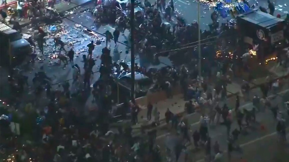 #Video Estampida en homenaje a Nipsey Hussle deja 19 heridos